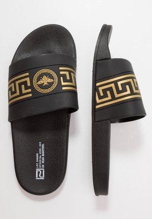 Badesandale - black