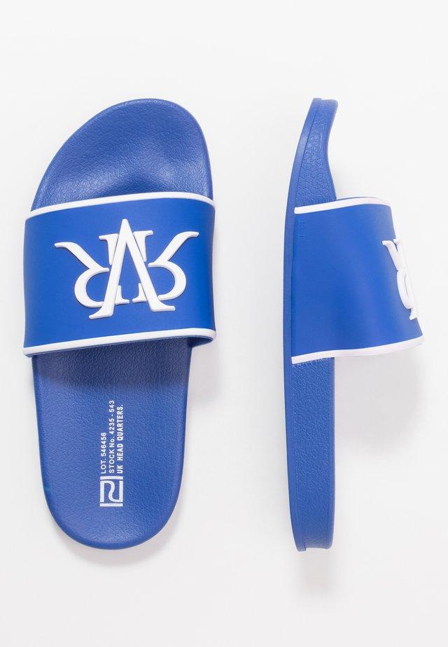 Badsandaler - blue