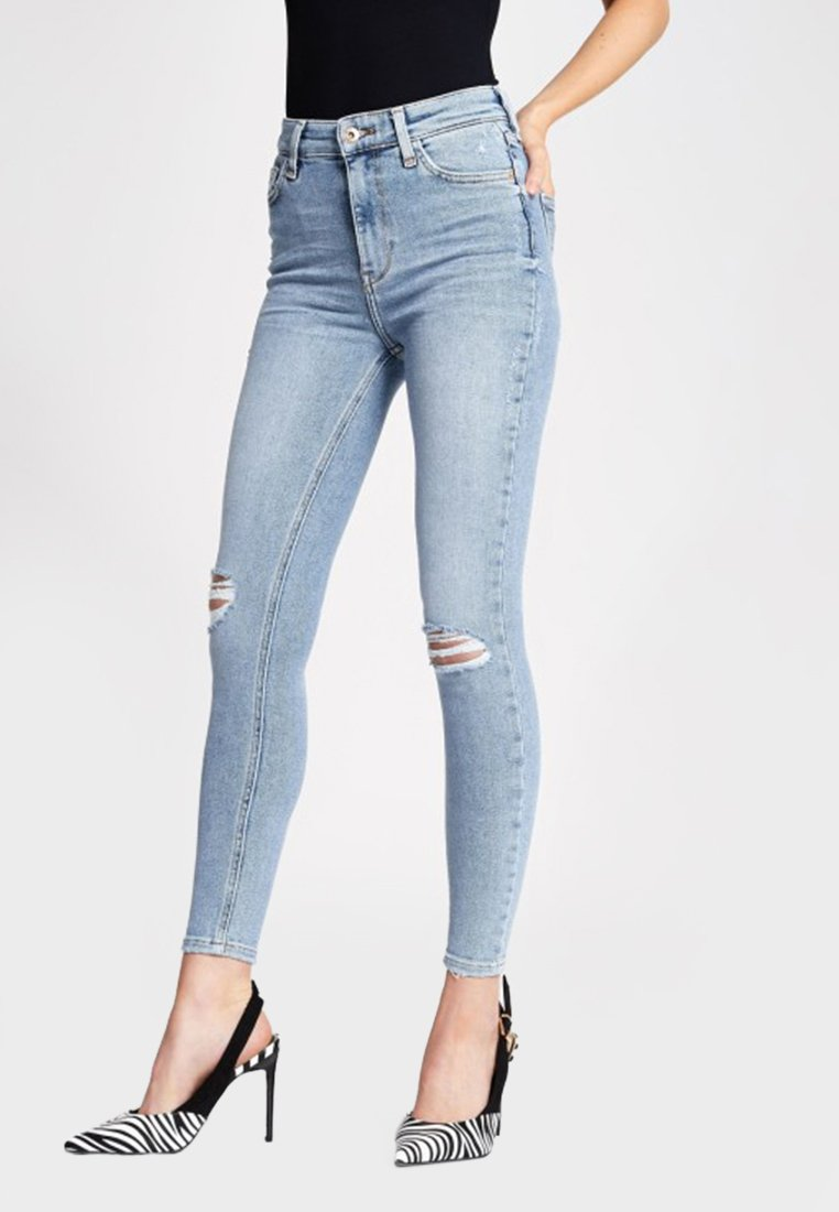 River Island - HAILEY - Jeans Skinny Fit - blue