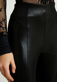 River Island - Leggings - Trousers - black - 4