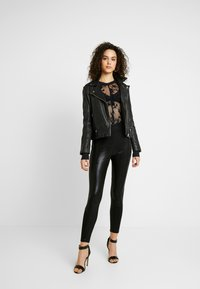 River Island - Leggings - Trousers - black - 1