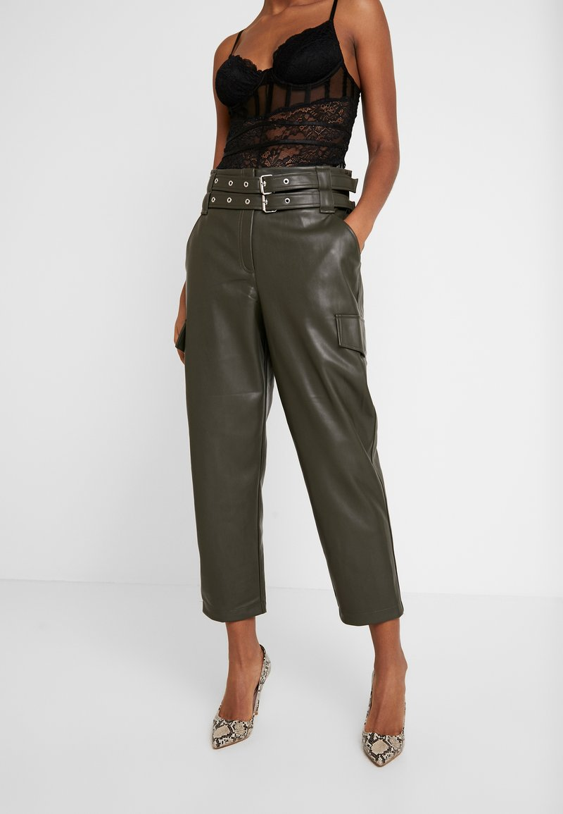 River Island - Trousers - khaki