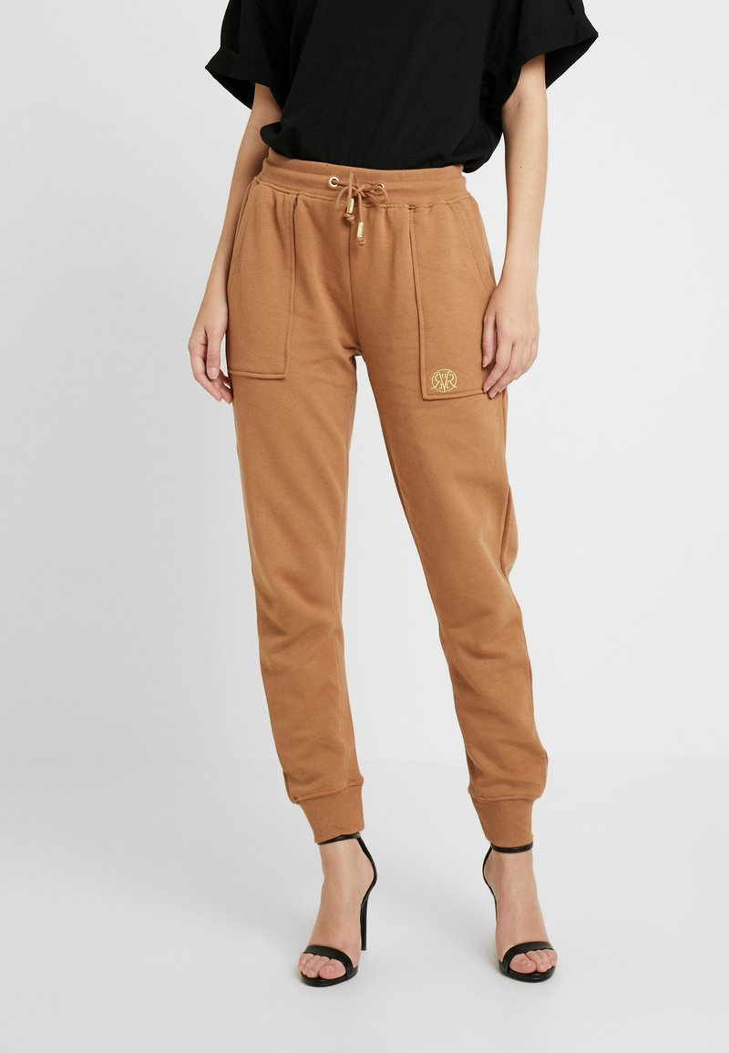 River Island - Pantalon de survêtement - toffee