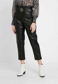 River Island - Spodnie materiałowe - black - 0
