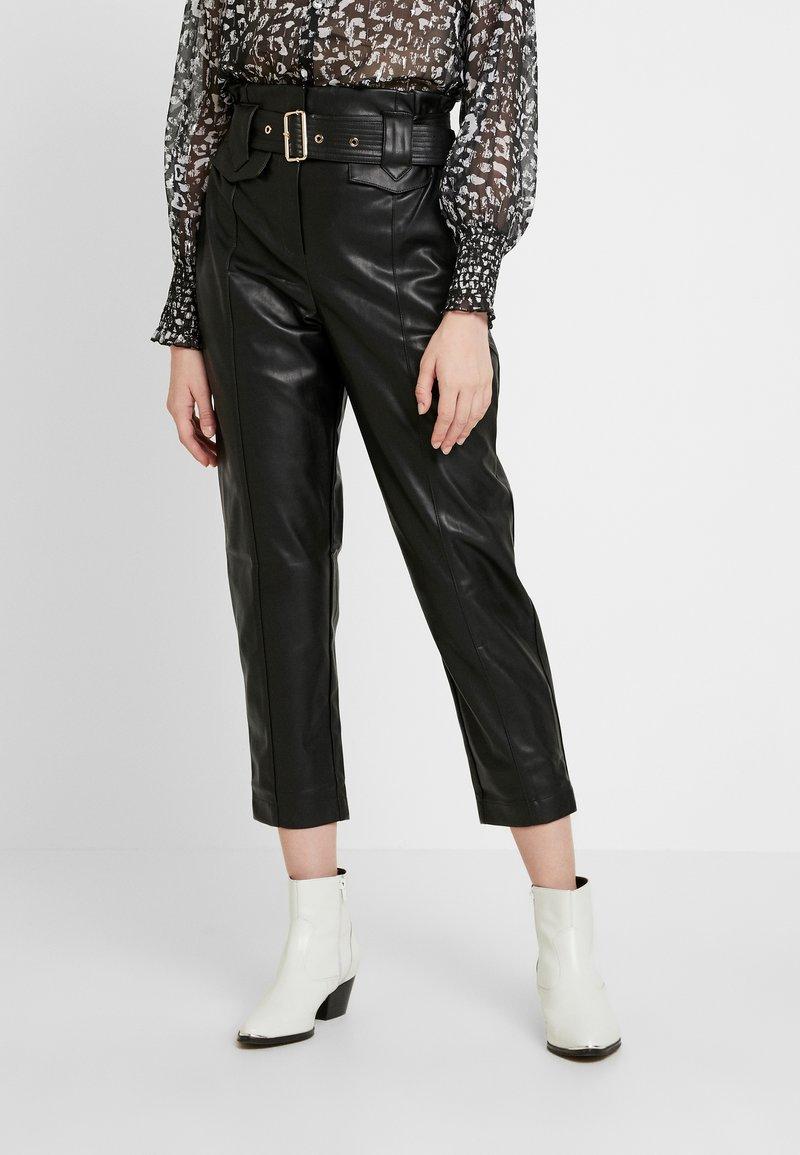 River Island - Spodnie materiałowe - black