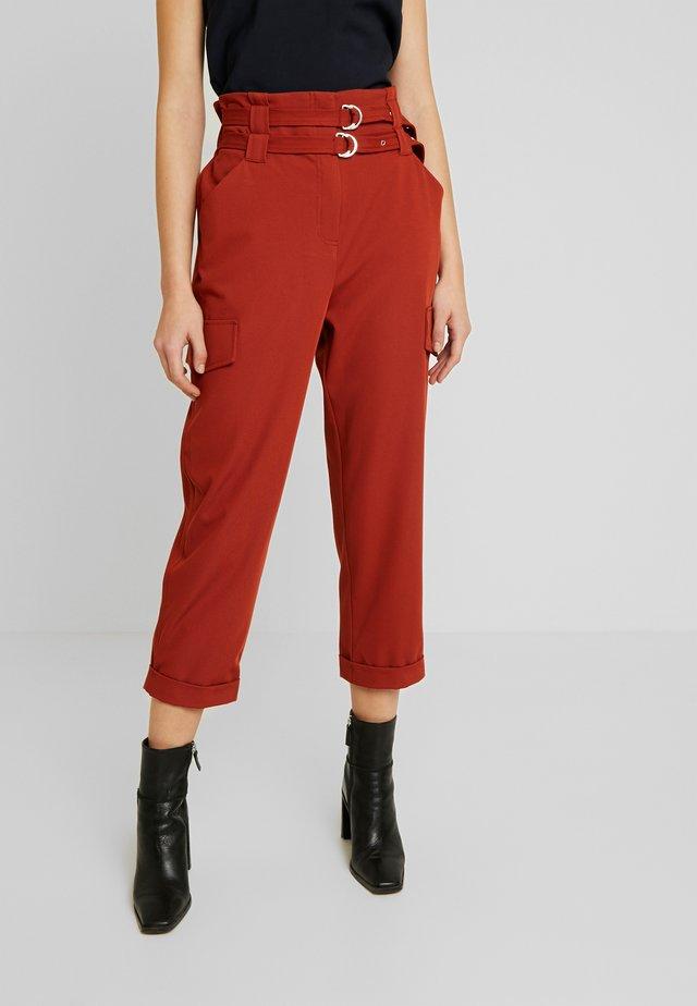 Kalhoty - rust