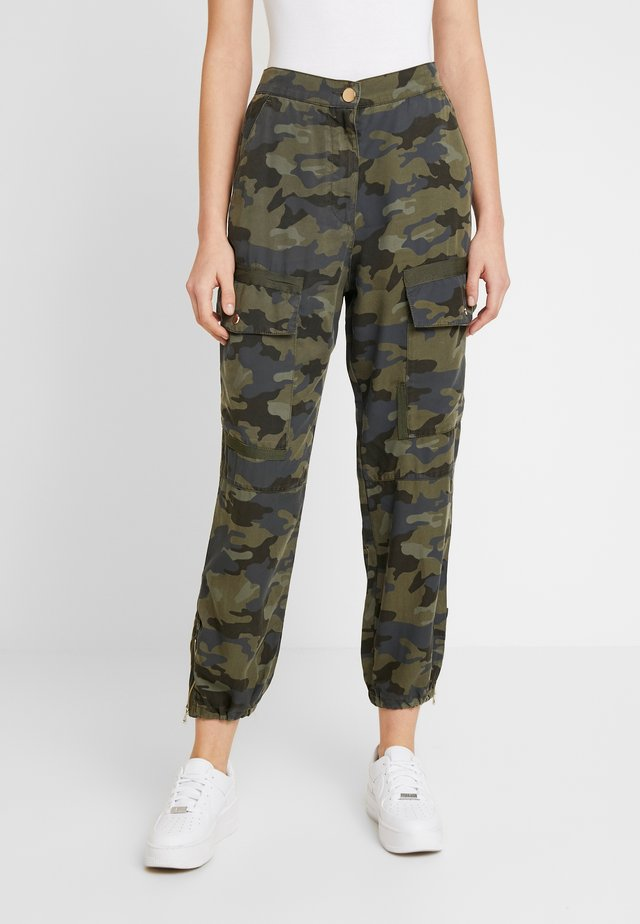 HAILEY - Trousers - khaki