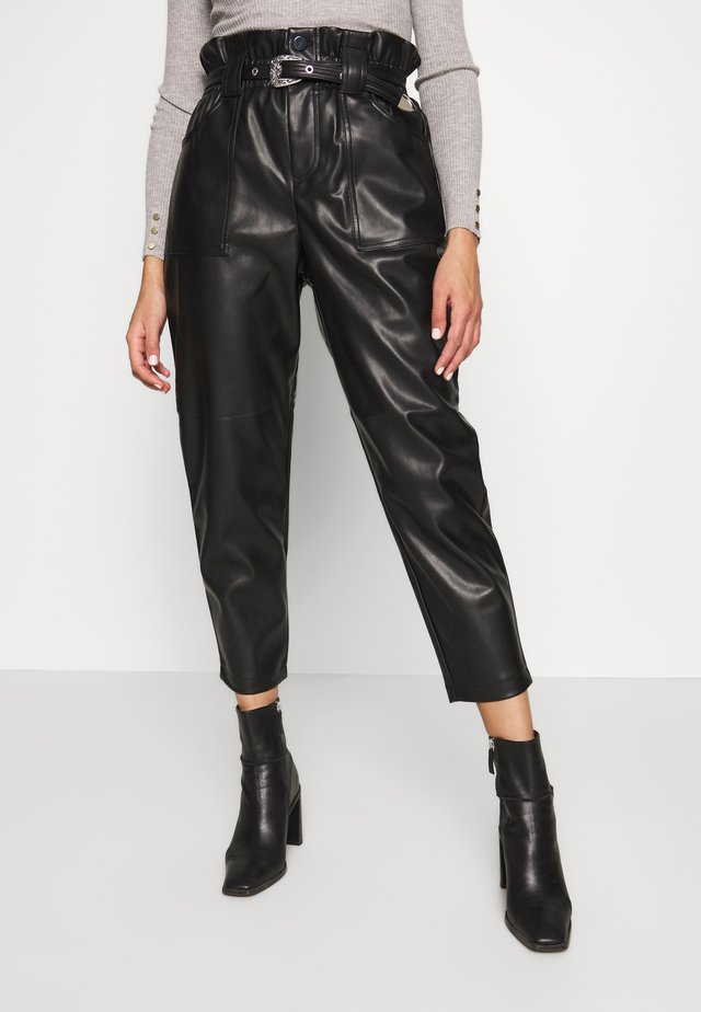WESTERN - Pantalon classique - black