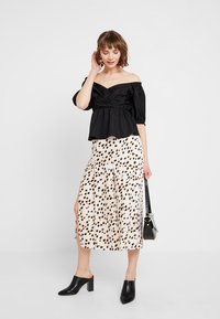River Island - A-line skirt - white - 1