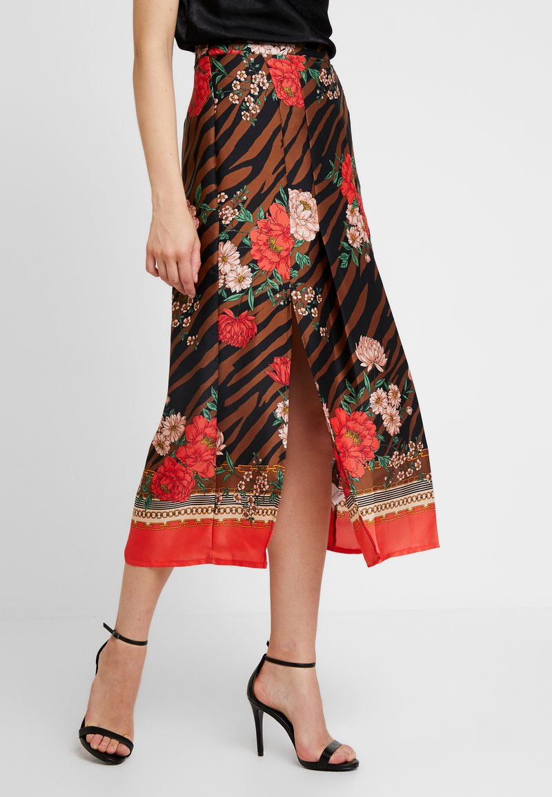 River Island - A-snit nederdel/ A-formede nederdele - multi-coloured