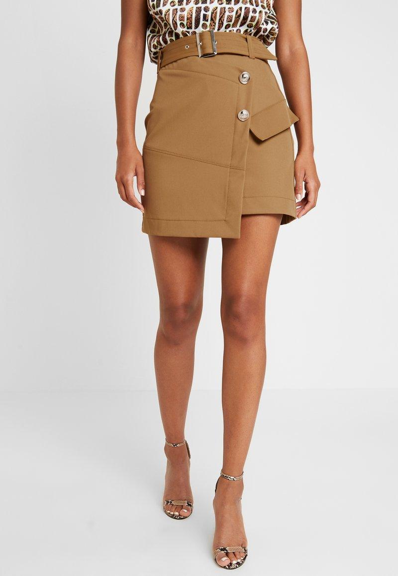 River Island - Mini skirt - beige