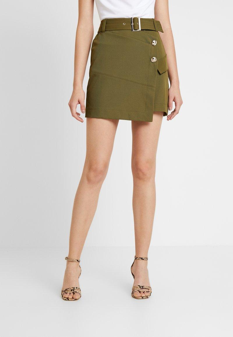 River Island - Mini skirt - khaki