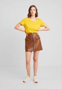 River Island - Mini skirt - tan - 1