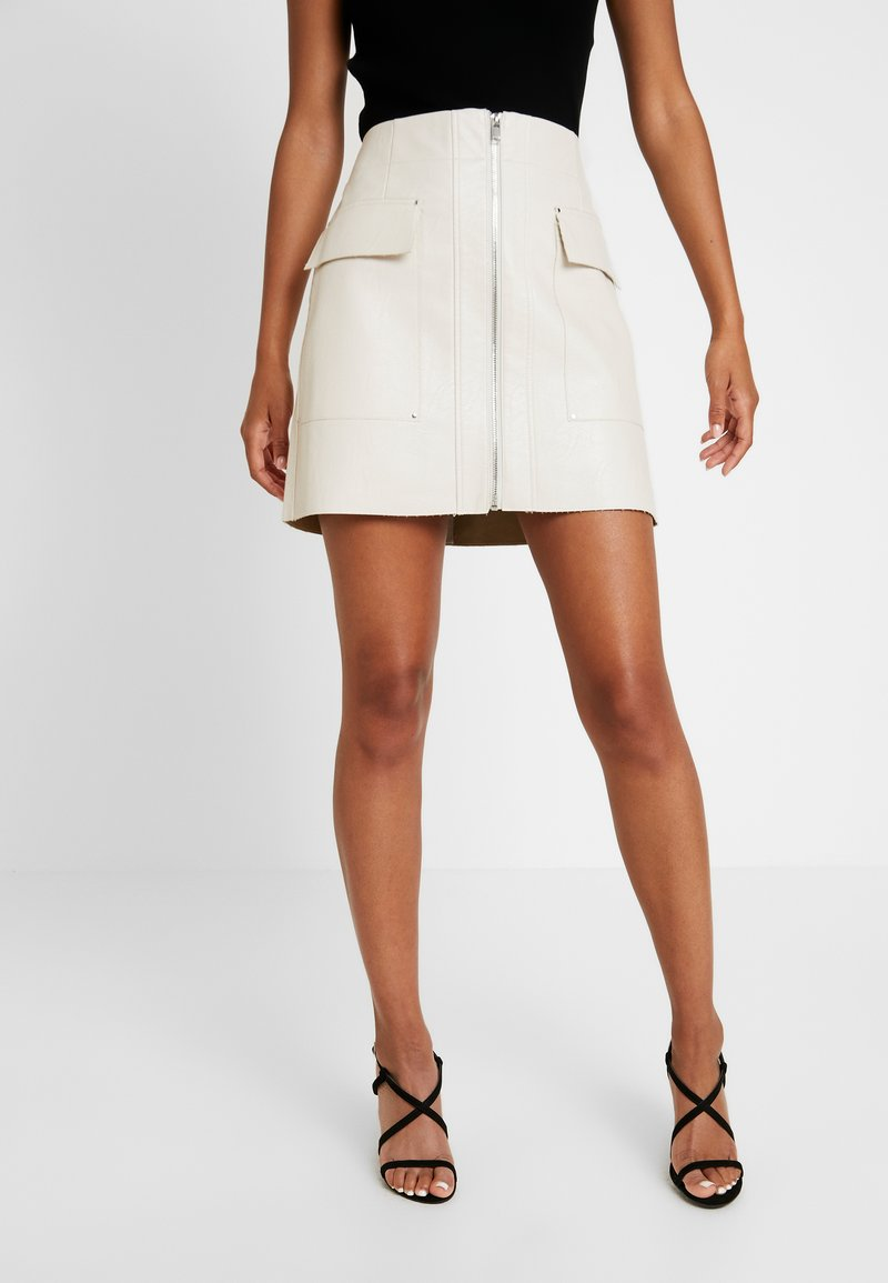 River Island - Mini skirts  - stone