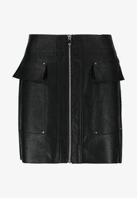 River Island - Mini skirt - black - 3