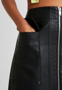 River Island - Mini skirt - black - 4