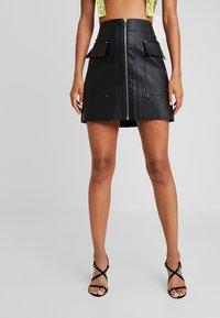 River Island - Mini skirt - black - 0