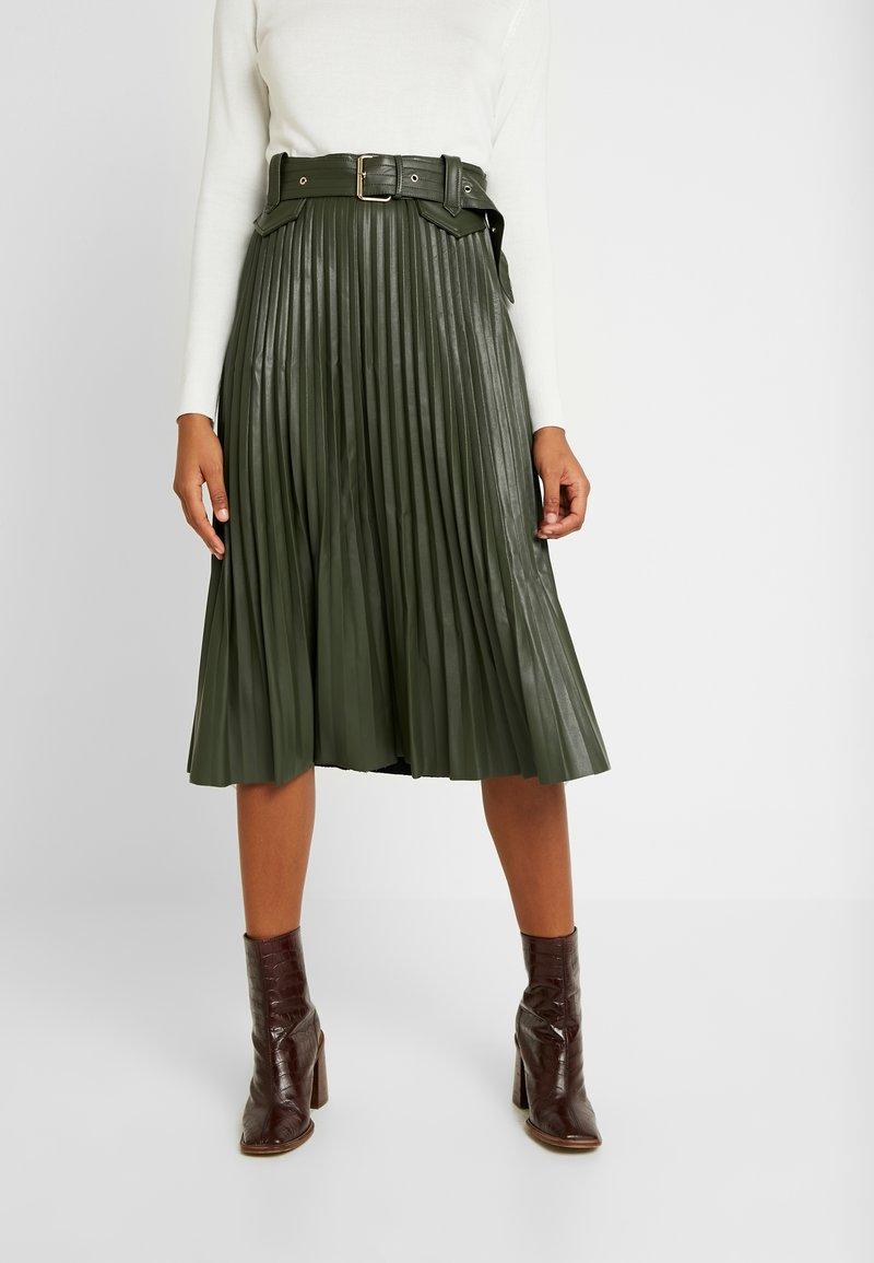 River Island - A-line skirt - khaki