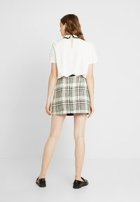 River Island - Minijupe - cream - 2