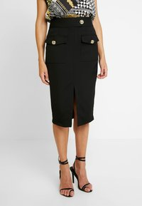 River Island - Pencil skirt - black - 0