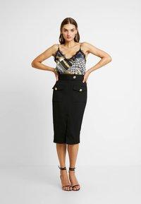 River Island - Pencil skirt - black - 1