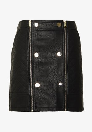 Mini skirts  - black