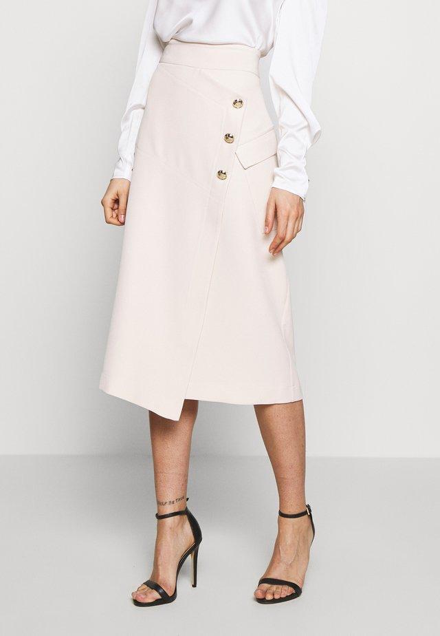 UMA UTILITY SKIRT - A-line skirt - cream