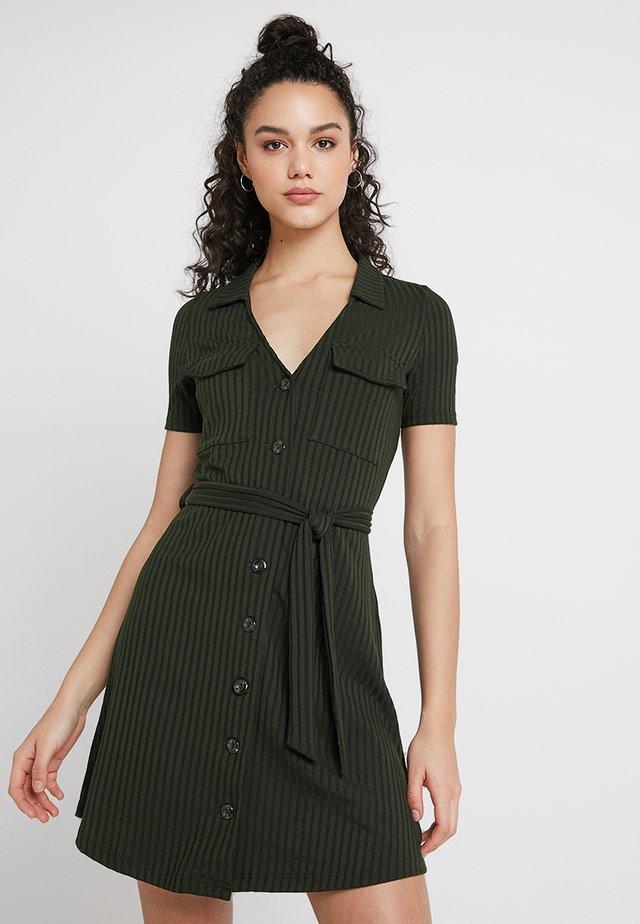 Skjortklänning - khaki