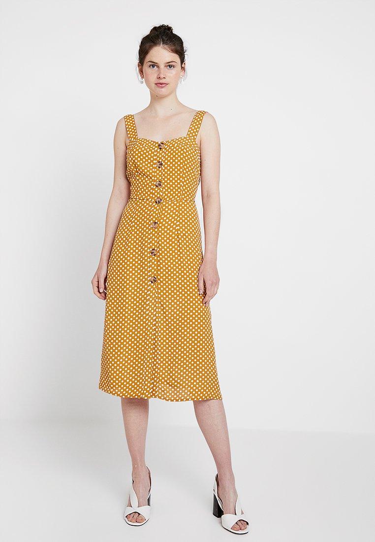 River Island - Shirt dress - yellow dark