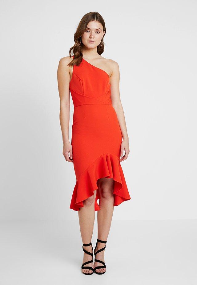 Cocktailklänning - red bright