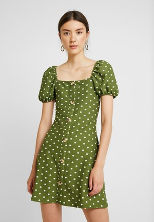 Jerseykjoler - green