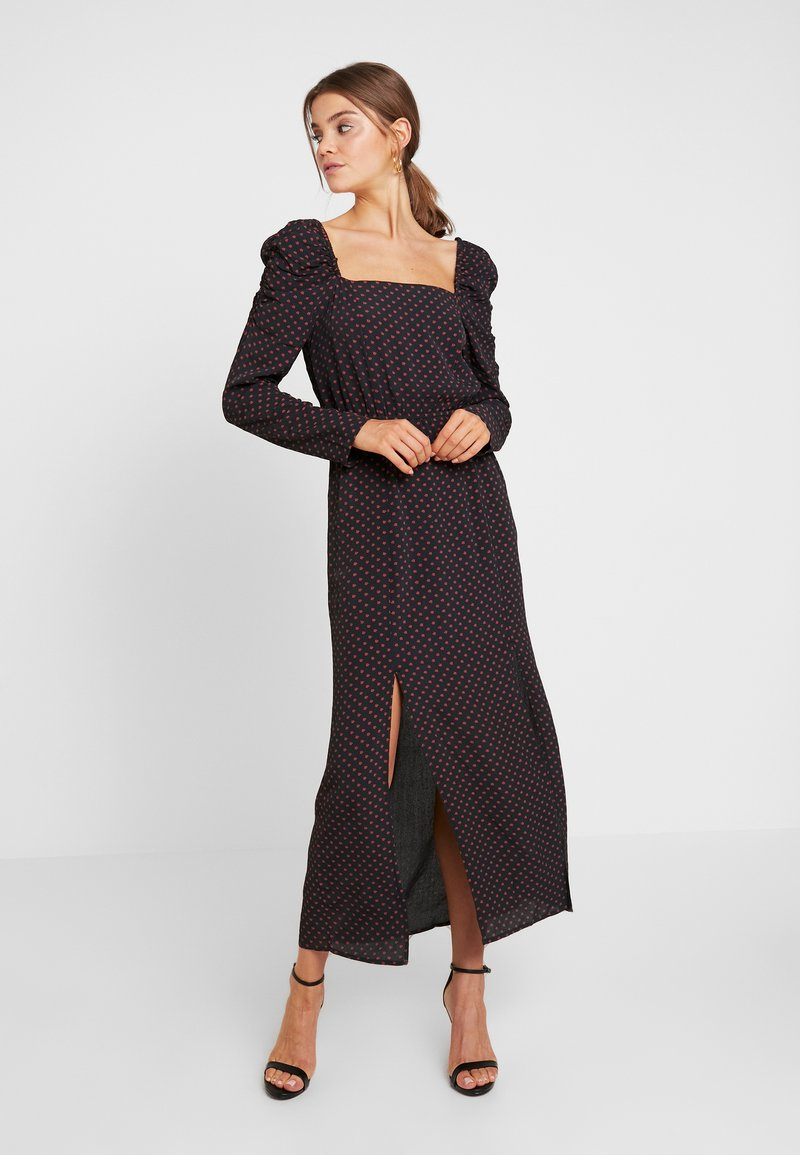 River Island - Maxikleid - black