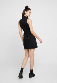 River Island - ADA FITTED DRESS - Spijkerjurk - black - 3