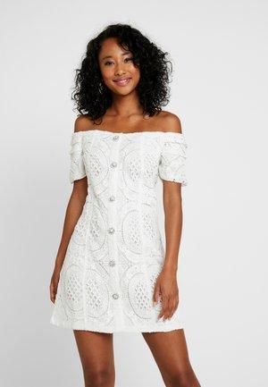 Shirt dress - ivory