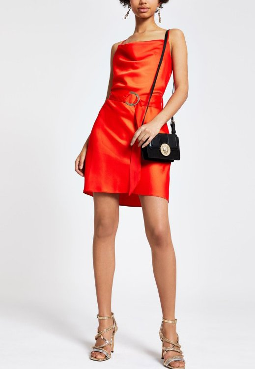 River Island - Day dress - red