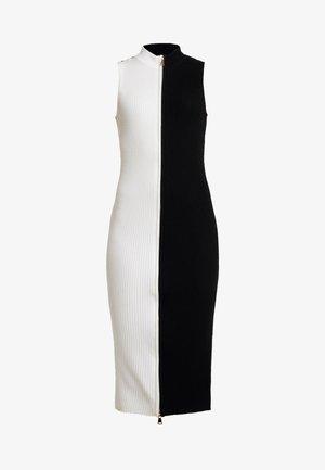 Robe fourreau - black/white