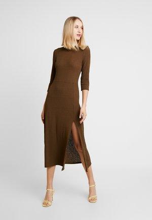 Jersey dress - khaki