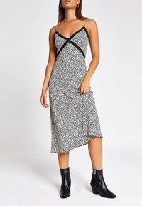 River Island - Day dress - black/white - 1