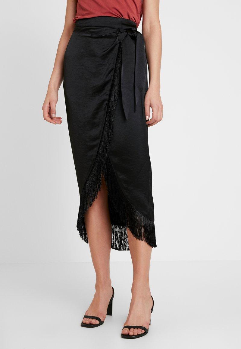 River Island - Maxi skirt - black