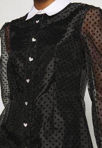 River Island - Shirt dress - black - 4