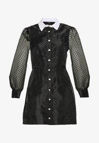 River Island - Shirt dress - black - 3