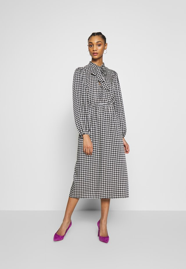 Cocktail dress / Party dress - dogtooth