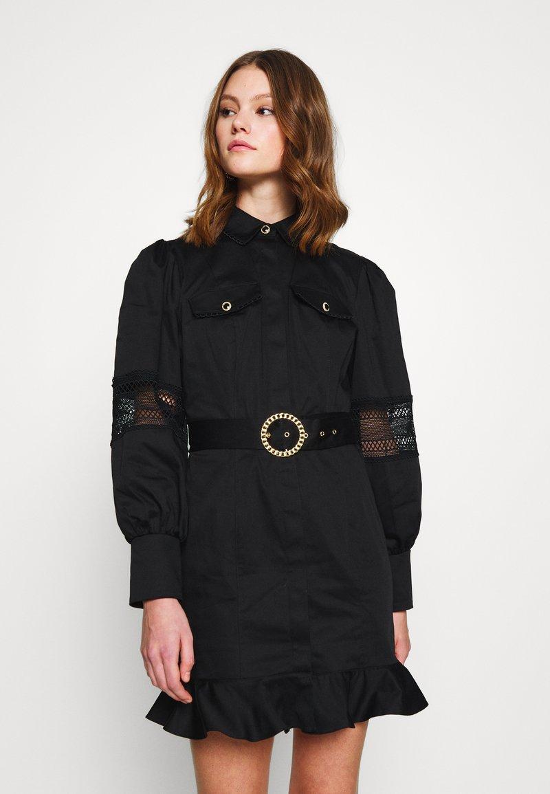 River Island - Košilové šaty - black