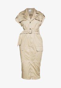 River Island - Shirt dress - beige - 3