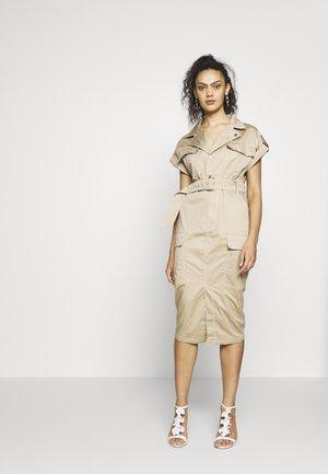 Blusenkleid - beige