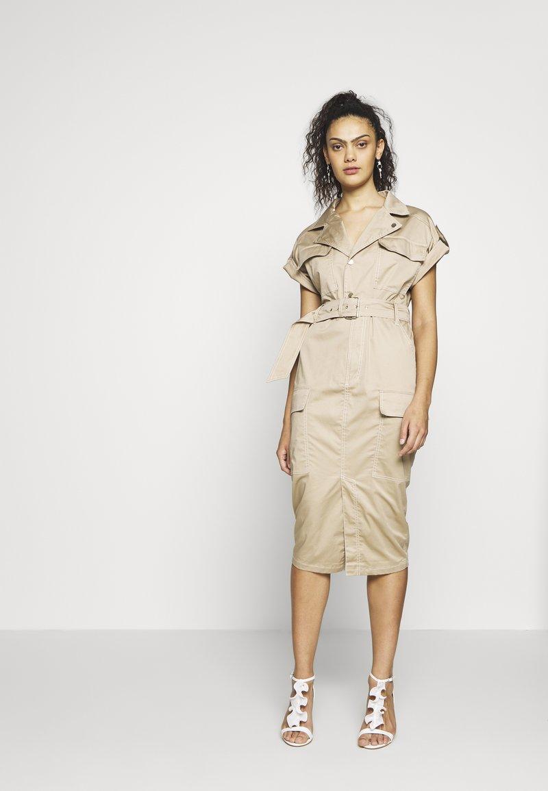 River Island - Shirt dress - beige
