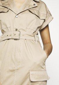 River Island - Shirt dress - beige - 4