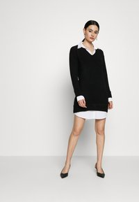 River Island - Shirt dress - black - 1