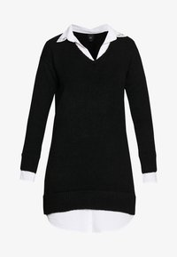 River Island - Shirt dress - black - 4
