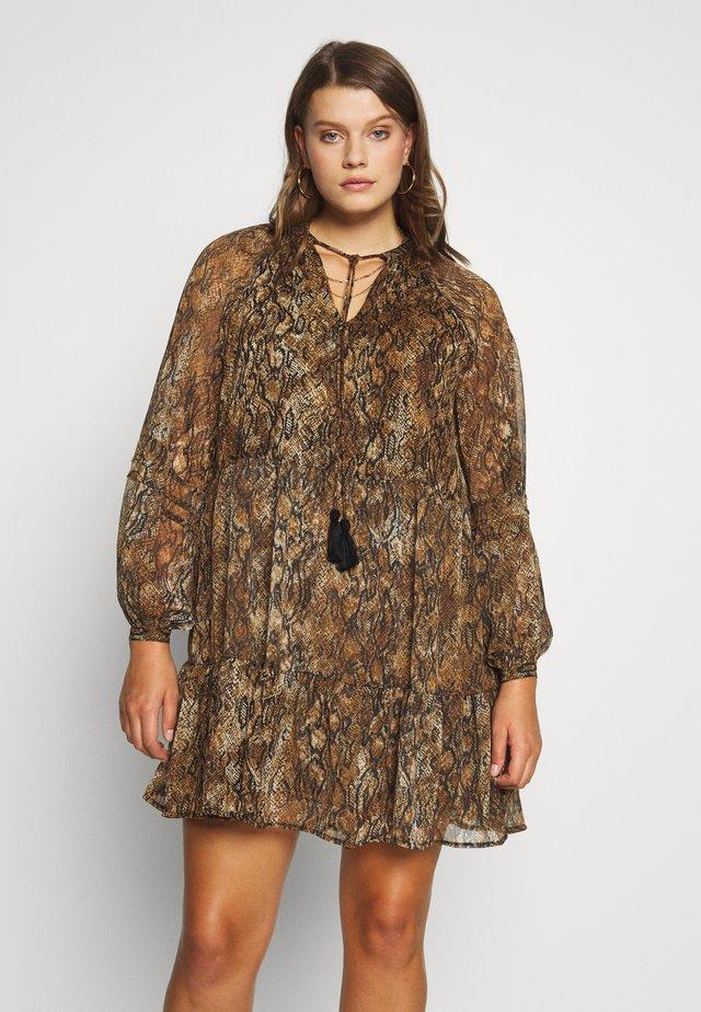Vestido informal - leopard